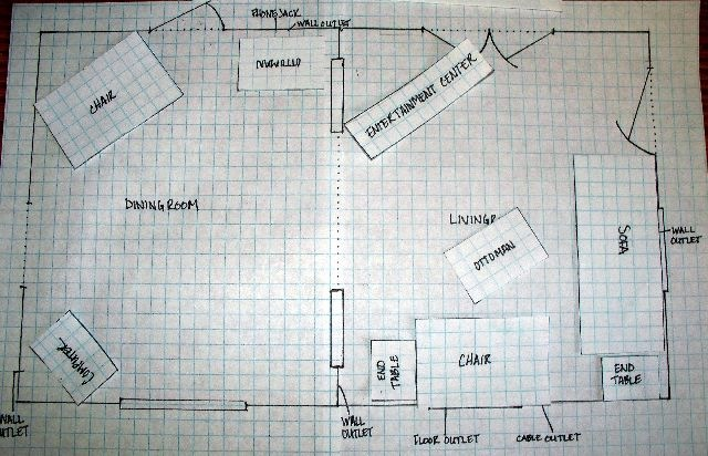 How To Arrange Furniture On Paper Crafterella S Blog