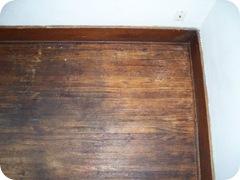 wood flooor corner after