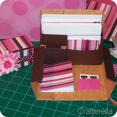 stationery box open