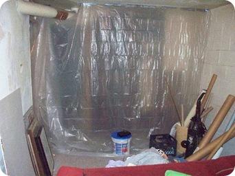 big DIY basement bath