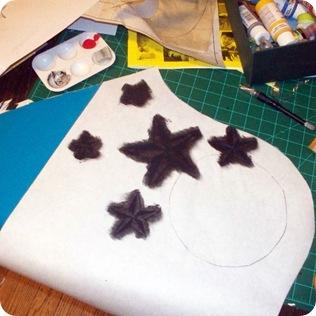 chica bag star stencil 1