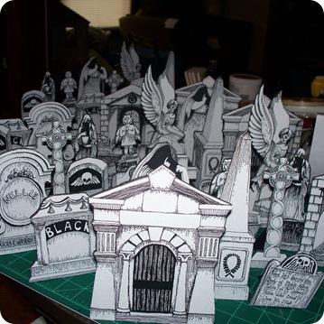 infinite cemetery